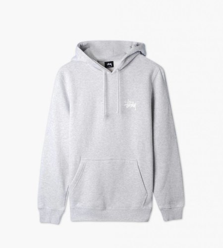 Stussy Stussy Basic Hood Grey Heather