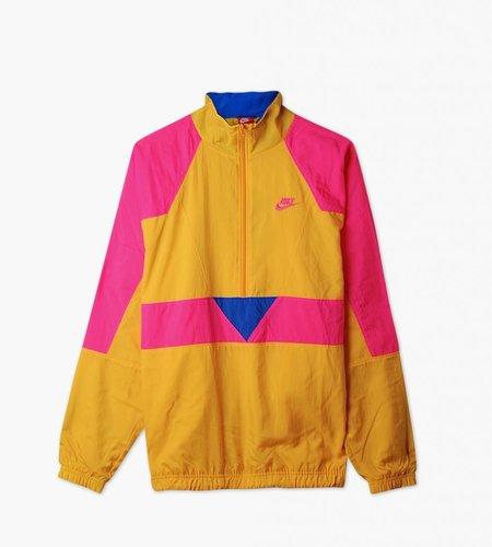 Nike Nike M NSW Swoosh Woven Half Zip Jacket University Gold Hyper Pink Hyper Royal