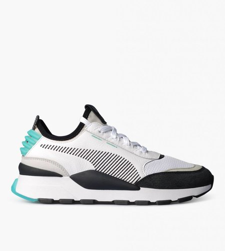 PUMA Puma RS-0 Re-Invention White Gray Violet Biscay Green