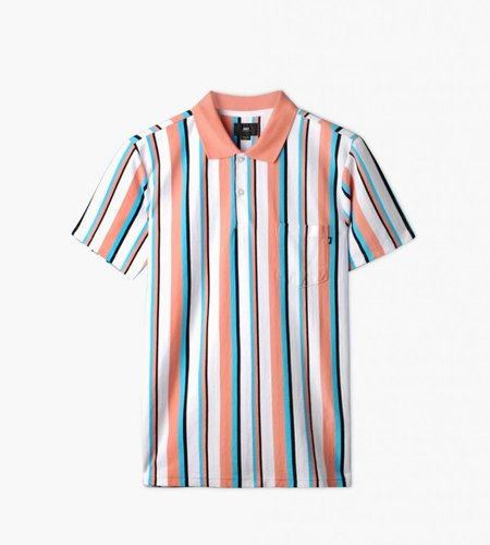 Obey Obey Allen Polo SS Coral