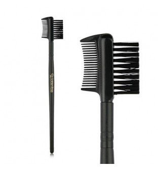 Golden Rose Brow & Lash Combi Brush