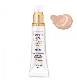 Golden Rose Mineral Liquid Foundation 5