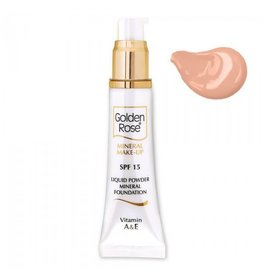 Golden Rose MINERAL LIQUID FOUNDATION 6