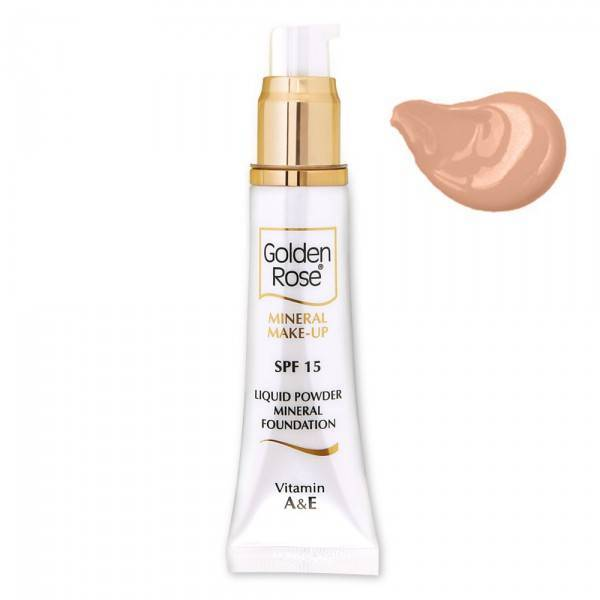 Golden Rose GOLDEN ROSE MINERAL LIQUID FOUNDATION 7