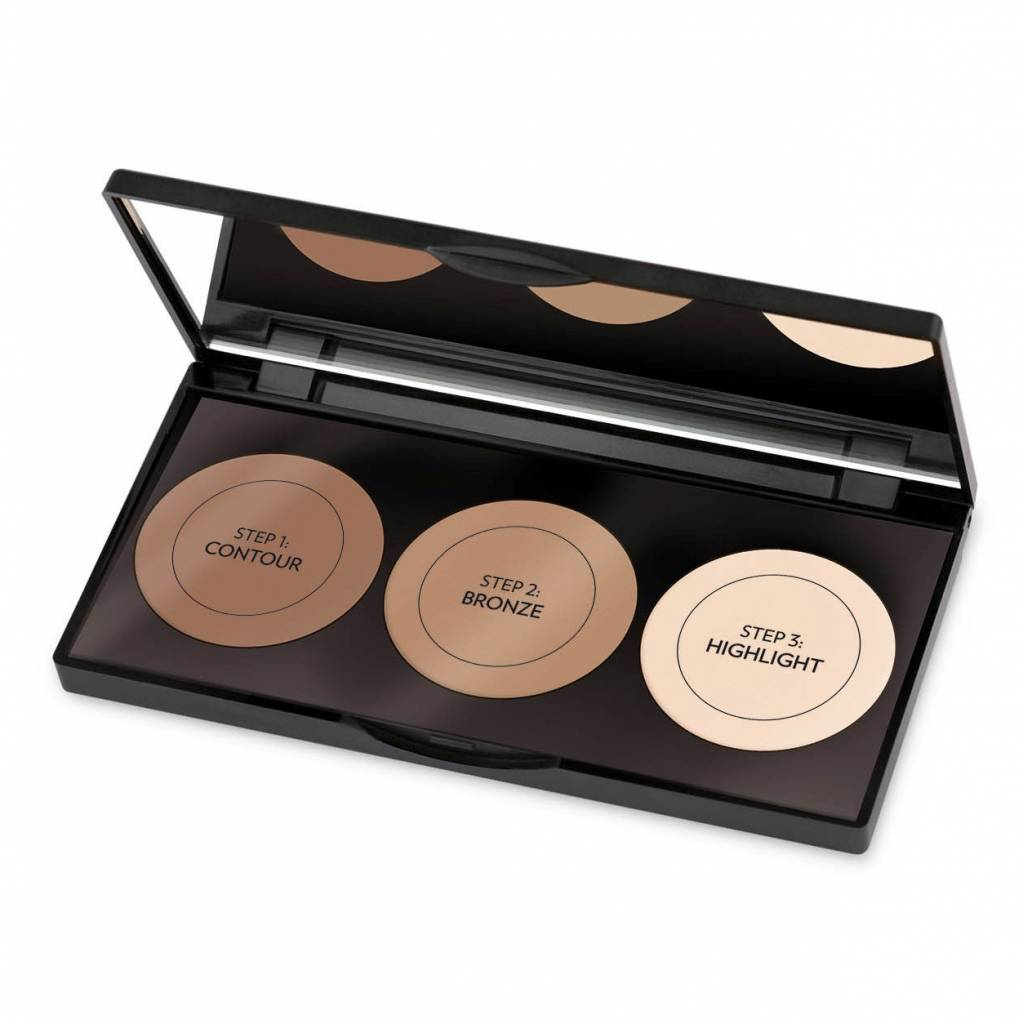 Golden Rose GOLDEN ROSE CONTOUR POWDER KIT