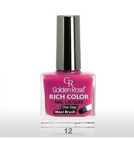 Golden Rose RICH COLOR NAGELLAK 12