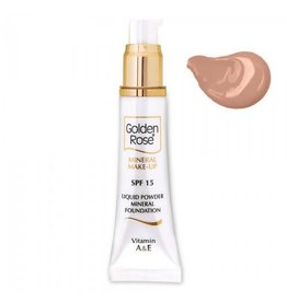 Golden Rose MINERAL LIQUID FOUNDATION 8