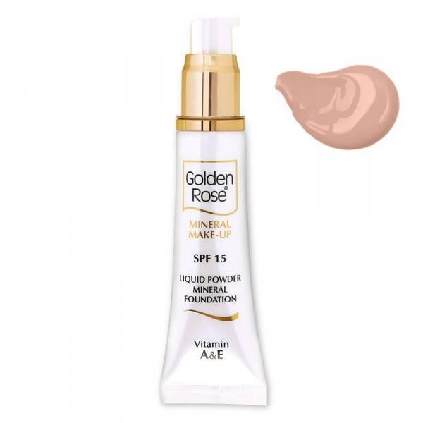 Golden Rose Mineral Liquid Foundation 10