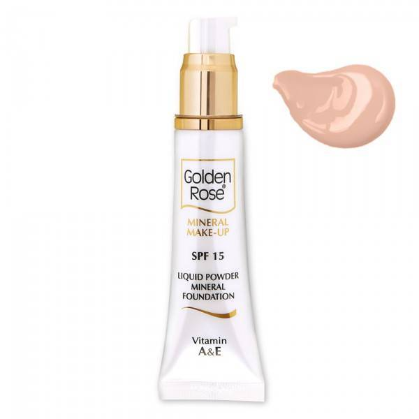 Golden Rose GOLDEN ROSE MINERAL LIQUID FOUNDATION 2