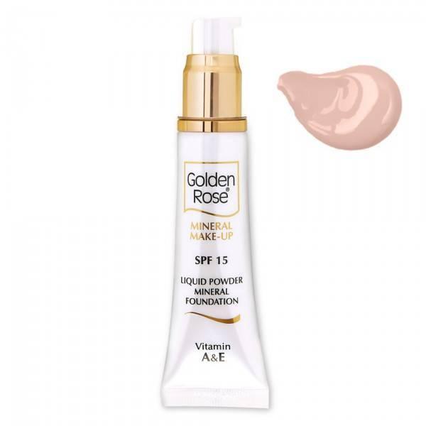 Golden Rose Mineral Liquid Foundation 4