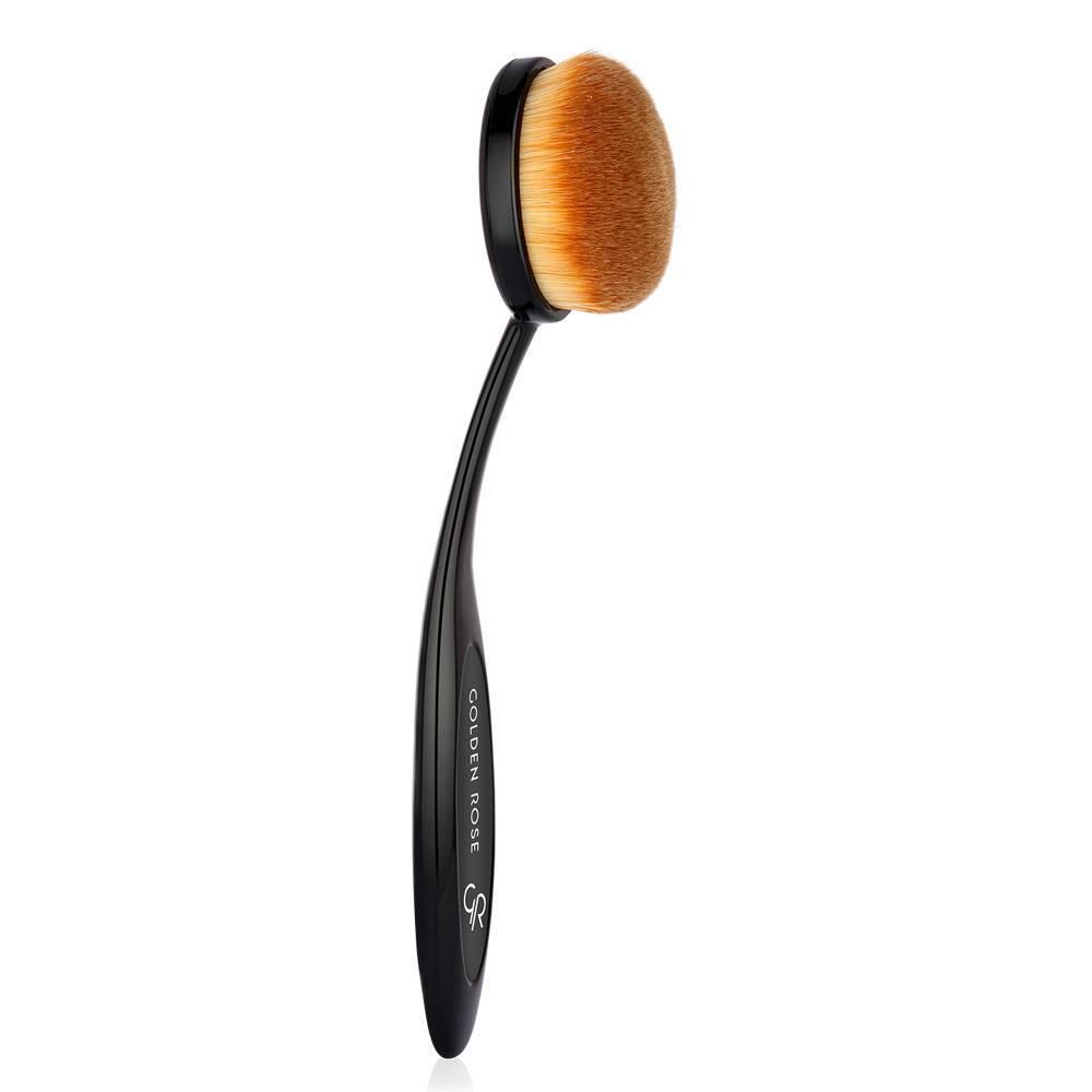 Golden Rose Oval Powder & Bronzer Brush Xxl
