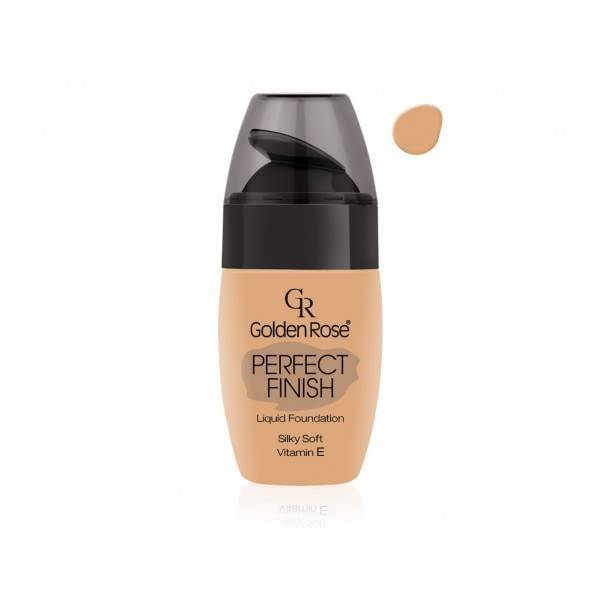 Golden Rose Perfect Finish Liquid Foundation 52