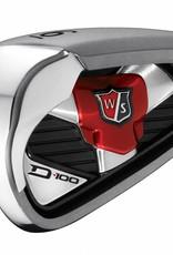 Wilson Wilson irons D100 set 5-7 + PW + SW RH carbon shaft regular
