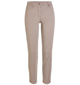 Golfino Golfino dot printed stretch trouser