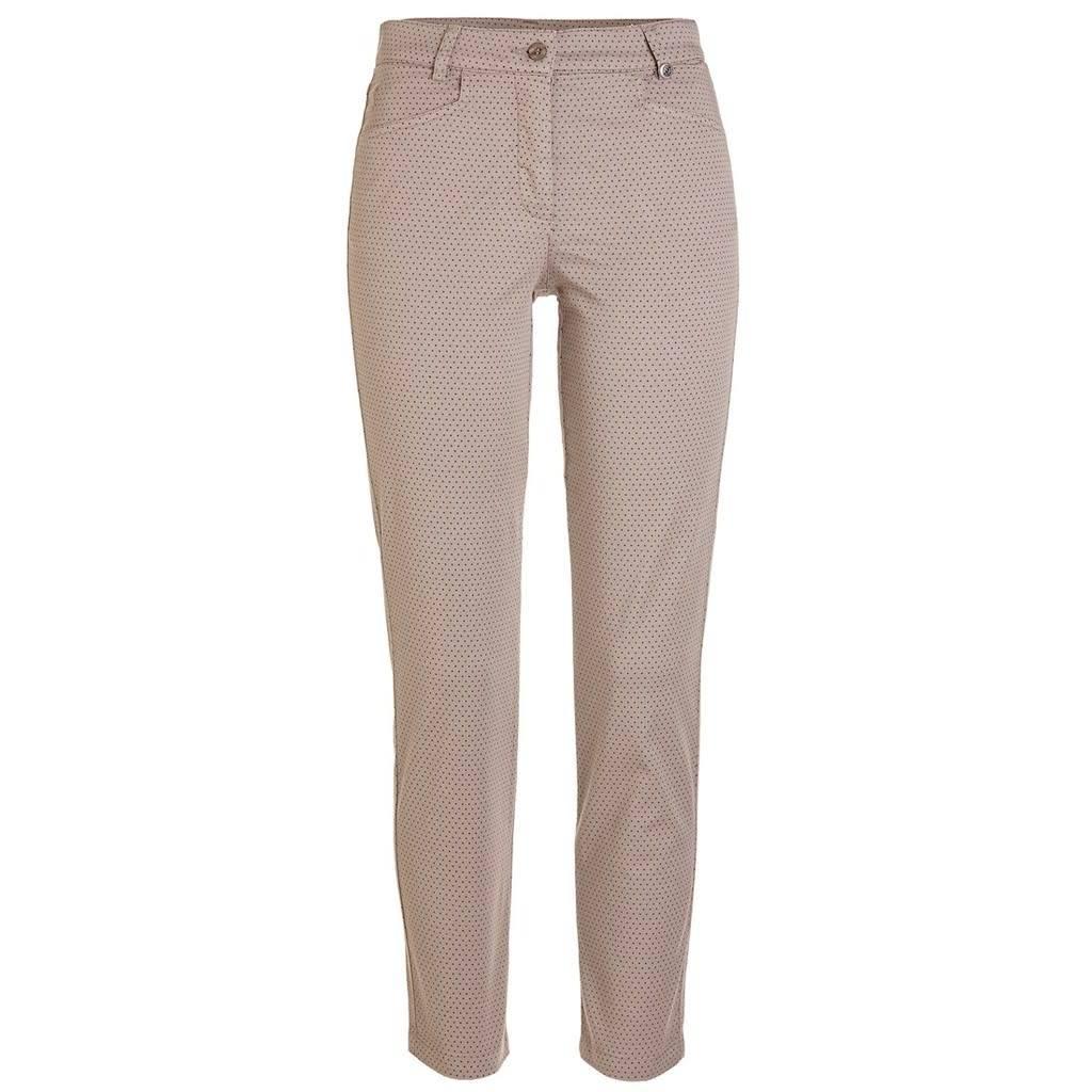 Golfino Golfino dot printed stretch trouser