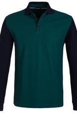 Golfino Golfino extra dry stand collar pique polo