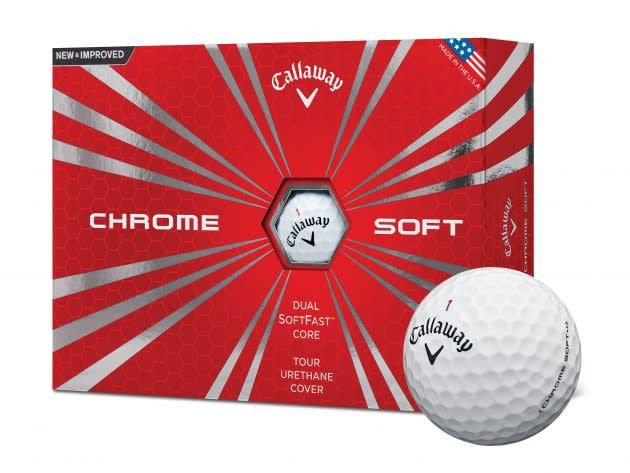 CALLAWAY Callaway Chrome Soft White Golf Bal