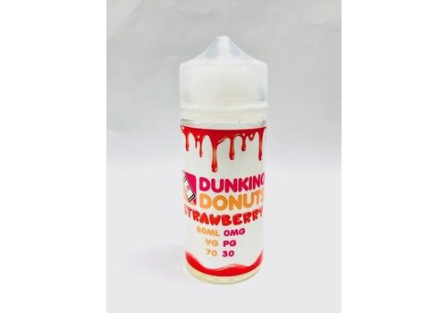 Dunking Donuts - Strawberry 80 ML Plus