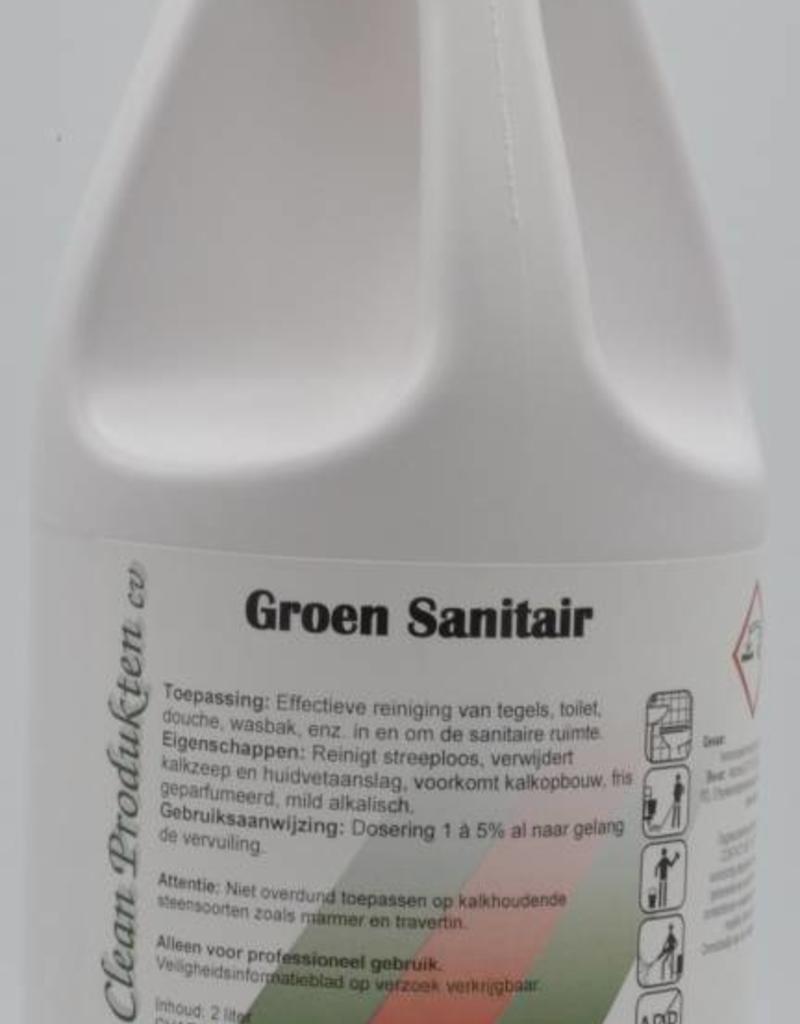 Groen Clean Groen Sanitair