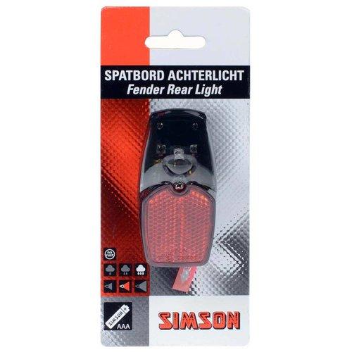 Simson Simson achterlicht spatbord