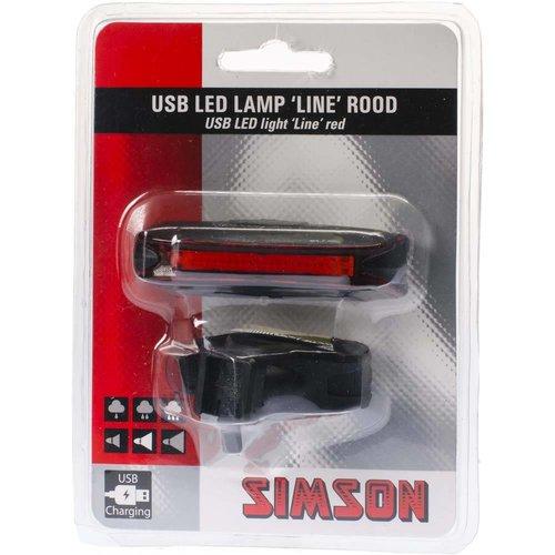Simson Simson achterlicht line 3lux