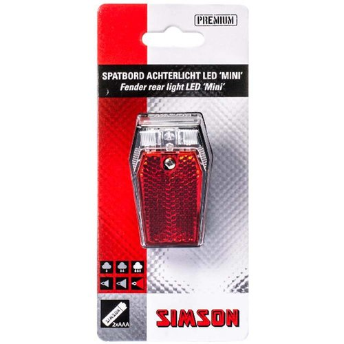 Simson Simson achterlicht spatbord mini