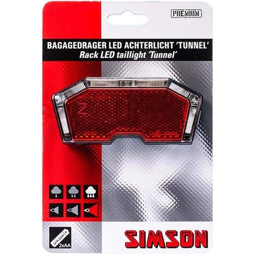 Simson Simson achterlicht tunnel