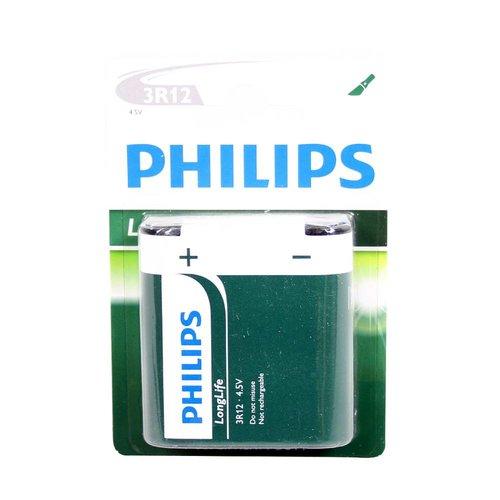 Philips batterij longlife 4,5volt