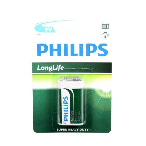 Philips batterij longlife 9volt