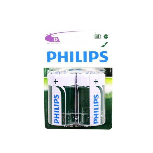 Philips batterij longlife R20