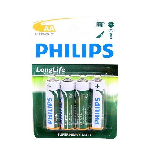 Philips batterij longlife AA