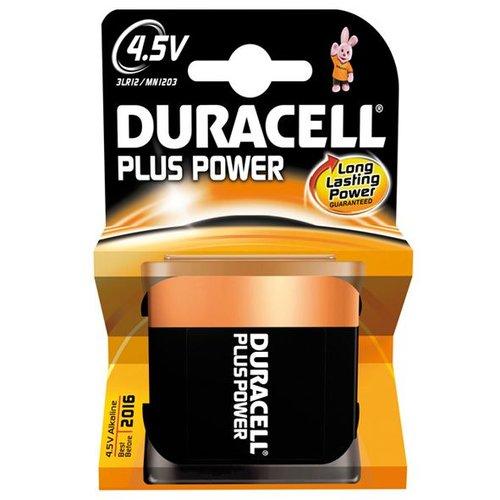 Duracell batterij plus power 4,5volt