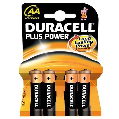 Duracell batterij plus power LR6