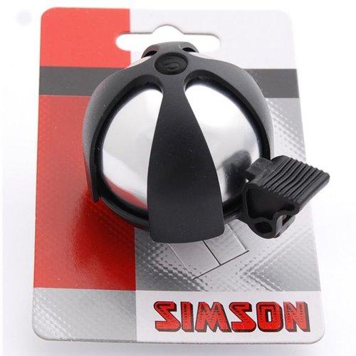 Simson Simson bel sport chroom/zwart