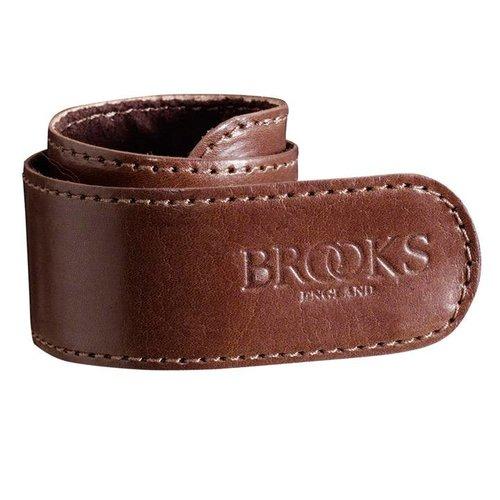 Brooks Brooks broekklem leer bruin