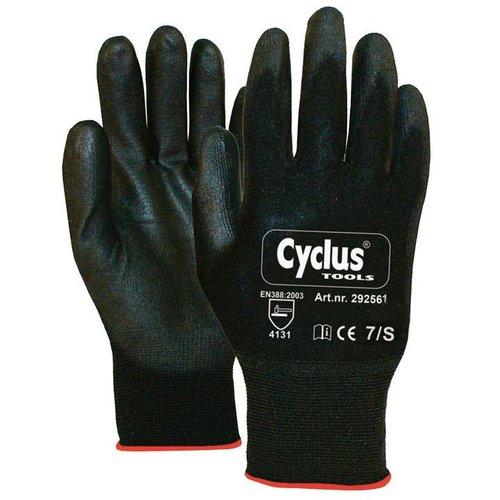 Cyclus handschoen WP S zwart/rood