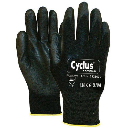 Cyclus handschoen WP M zwart/geel