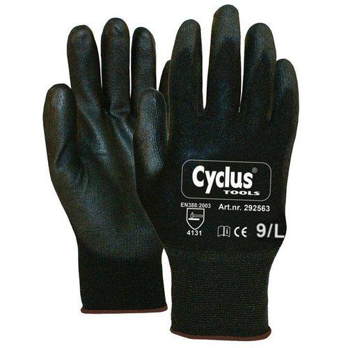 Cyclus handschoen WP L zwart/bruin