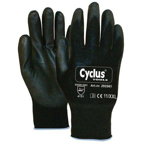 Cyclus handschoen WP XXL zwart/blauw