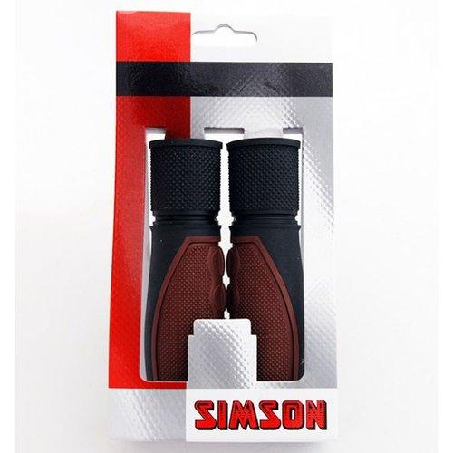 Simson Simson handvat Lifestyle donkerbruin/zwart