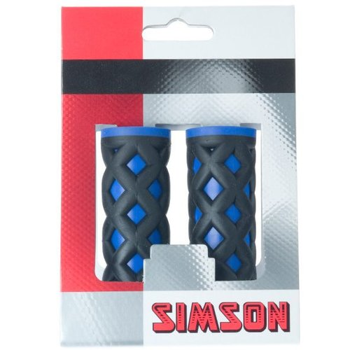 Simson Simson handvat kinder kobalt/zwart