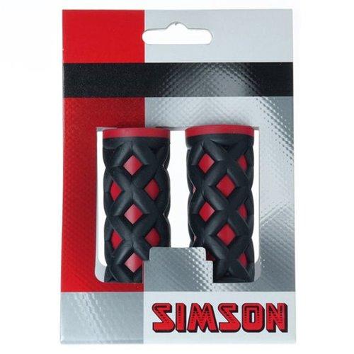 Simson Simson handvat kinder rood/zwart