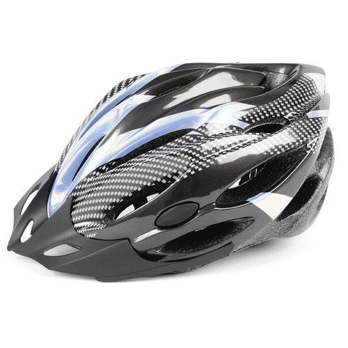 Mirage helm Allround 58-62 zwart/zilver