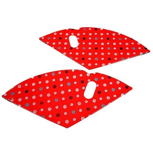 Cortina jasbeschermer 24 lief rood