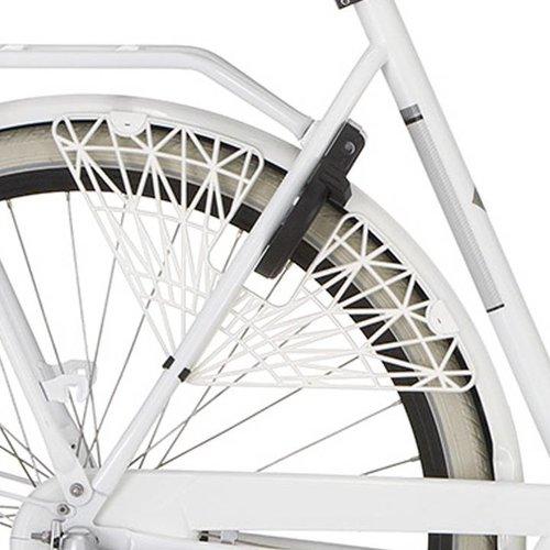Cortina jasbeschermer Trenza bright white