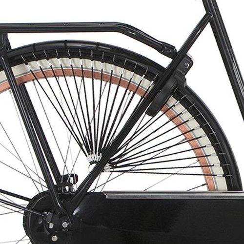 Cortina jasbeschermer Trenza saphire black