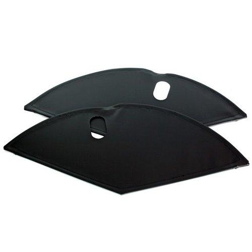 Jasbeschermer 28 lakdoek mat zwart