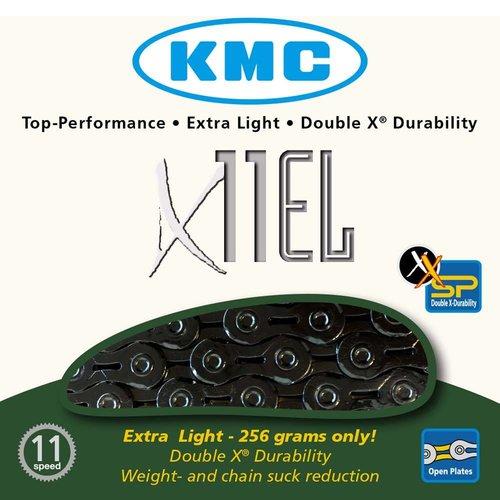 KMC KMC ketting X11EL 118L zwart