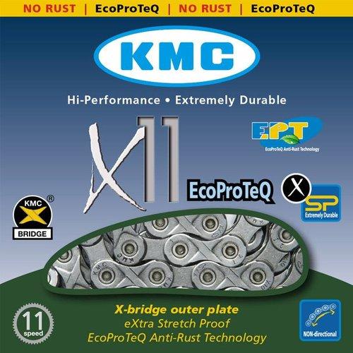 KMC KMC ketting X11 EPTx118L