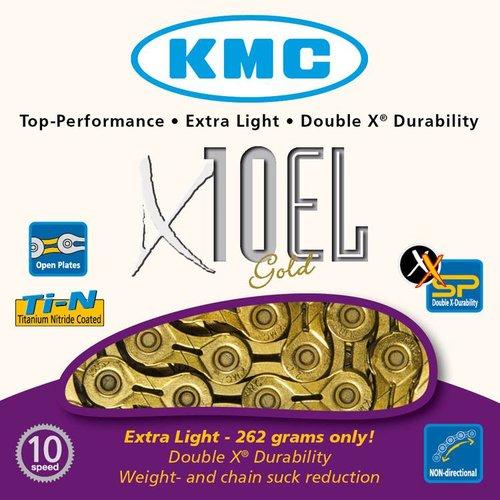 KMC KMC ketting X10EL goud